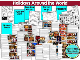 Small Picture 58 best HOLIDAYS AROUND THE WORLD ACTIVITIES CRAFTS and LESSON