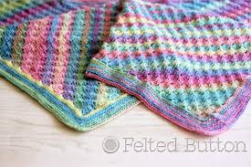 Free Crochet Blanket Patterns Stunning Felted Button Colorful Crochet Patterns Spring Into Summer With A