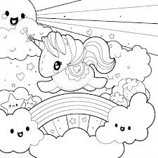 inside out coloring pages printable printable unicorn rainbow coloring pages kids coloring rainbow color rainbow unicorn