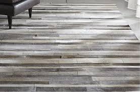 gray stripes cowhide patchwork rug grey cowhide rug exclusive regarding grey cowhide rug prepare