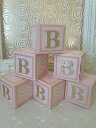 Alphabet blocks, baby shower decorations, elephant baby shower decorations,  baby showe, etsy