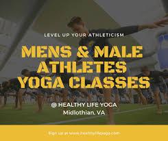 yoga for men male athletes