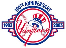 New York Yankees Anniversary Logo - American League (AL) - Chris ...