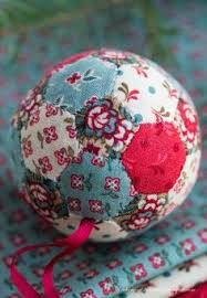 How To Decorate Styrofoam Balls How to Cover a Styrofoam Ball With Satin Fabric Fabric squares 87