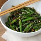asparagus   black bean sauce stir fry