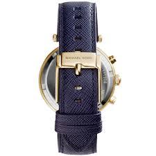 michael kors mk2280 parker leather watch strap bracelet
