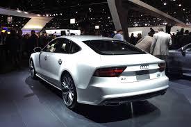 2016 audi a7 white. 2016 audi a7 rear view exterior photo white l