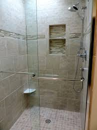 attractive modern stand up shower designs