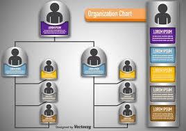 Modern Org Chart Vector Modern Organization Chart Download Free Vectors