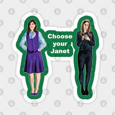 Choose your Janet - The Good Place - Magnet | TeePublic