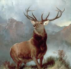 painting monarch of the glen by sir edwin landseer