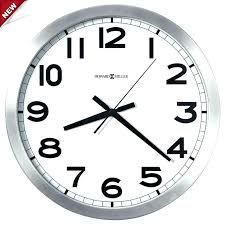 white wall clock ikea large distressed black and