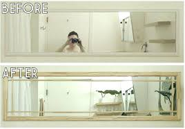 appealing how to remove a bathroom mirror glued to the wall remove a bathroom mirror to