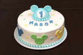 ROSCOE BAKERY  BABY SHOWER CAKESBaby Mickey Baby Shower Cakes