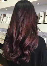 45 Shades Of Burgundy Hair Dark Burgundy Maroon Burgundy With Black Black And Red Hair On The Bottom L