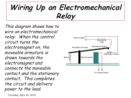 mechanical relay wiring diagram mechanical wiring diagrams electromechanical relay