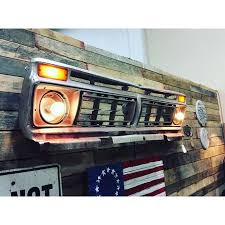 1 ford wall art 1975 ford f 150 grill wall art with lights
