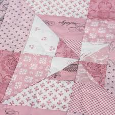 Hand Made Patchwork Quilt - baby girl | For Faith | Pinterest & Hand Made Patchwork Quilt - baby girl Adamdwight.com