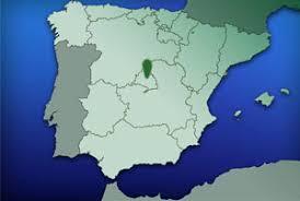Resultado de imagen de mapa de españa con Madrid