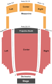 Columbus Theatre Seating Chart Providence