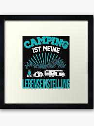 Camping Camper Campingurlaub T Shirt Lebenseinstellung Cooles