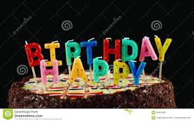Holiday Blow Out The Candles On The Cake Stock Footage Video Of