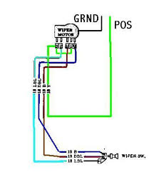wiper motor wiring iain39s seven wiring diagram and schematic lucas wiper motor wiring diagram digital