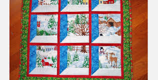 Winter Scene Christmas Windows Wall Hanging So Realistic The Snow ... & Winter Scene Christmas Windows Wall Hanging So Realistic The Snow Glistens Adamdwight.com
