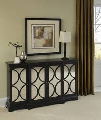 Mirrored Furniture Living Room Pulaski Furniture Black Mirror Front Accent Chest 969152 By