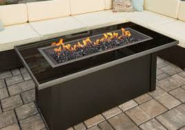 coffee table monte carlo fire pit black glass diy propan