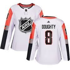 Adidas Nhl Division 8 Women's Doughty Pacific Kings All-star Drew Authentic White - Los 2018 Angeles Allstar Jersey