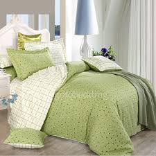 clearance 100 cotton green duvet cover queen size