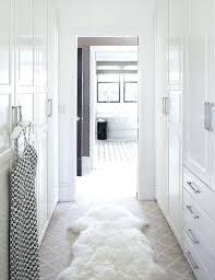 walk through closet to bathroom