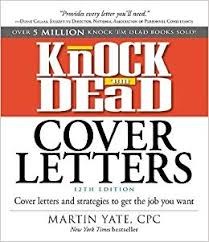 amazon cover letter knock em dead cover letters cover letters and strategies