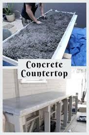 easy concrete countertops concrete overlay concrete masonry s kitchen building concrete