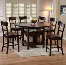 alluring round pub table with chairs