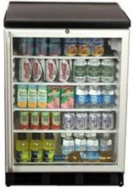 summit scr600bl sh commercial under counter glass door all refrigerator black 5 5 cu ft capacity front lock 29 inch stainless steel handle