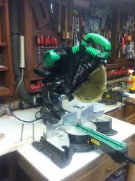 hitachi 12 sliding miter saw. hitachi c12rsh dual compound sliding miter w/laser marker 12 saw