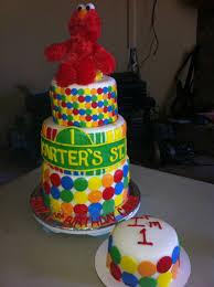 34238 Elmo Birthday Cake He Was So Much Fun Elmo Birthday Party