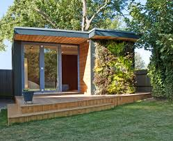 prefabricated garden office. we chat with eden garden rooms about using their buildings as offices talk foundations planning permission and pricing plus lots prefabricated office