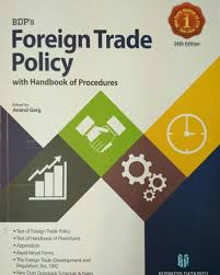 Name Foreign Trade Policy With Handbook Of Procedures 24th