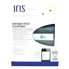 iris garage door z wave garage door controller iris universal internet gateway z wave garage door