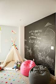 Amazing Kids Play Areas With Black Board