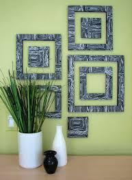wall frames as art via homeedit