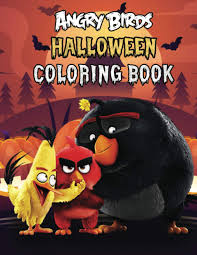 Angry Birds Halloween Coloring Book: Super Halloween Gift for Kids and Fans  - Great Coloring Book with High Quality Images: Costa, Diego:  9798698259428: Amazon.com: Books