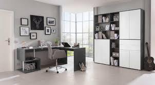 Libreria Ad Angolo Design Ufficio Moderno Completo Con Scrivania Ad Angolo E Libreria Bianco Lucido E Ardesia