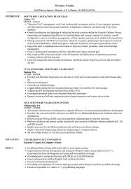 Resume Software Skills Software Validation Resume Samples Velvet Jobs 12