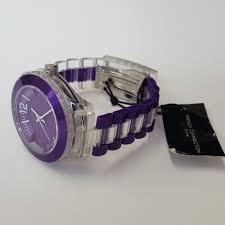 mens purple plastic strap fashion watch by french connection fcuk mens purple plastic strap fashion watch by french connection fcuk fc1128wo