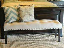 diy bedroom bench. Our Home Away From Home: DIY DROP CLOTH BENCH FOR THE MASTER BEDROOM Diy Bedroom Bench L