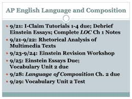 ap english language and composition rhetorical  3 ap